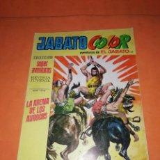 Tebeos: JABATO Nº 199 1ª PRIMERA EPOCA - LA ARENA DE LOS AUROCHS - BRUGUERA AÑO 1973. Lote 218570276
