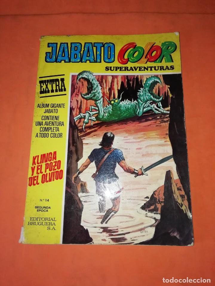 JABATO COLOR EXTRA Nº 14 SEGUNDA EPOCA. KLINGA Y EL POZO DEL OLVIDO. (Tebeos y Comics - Bruguera - Jabato)