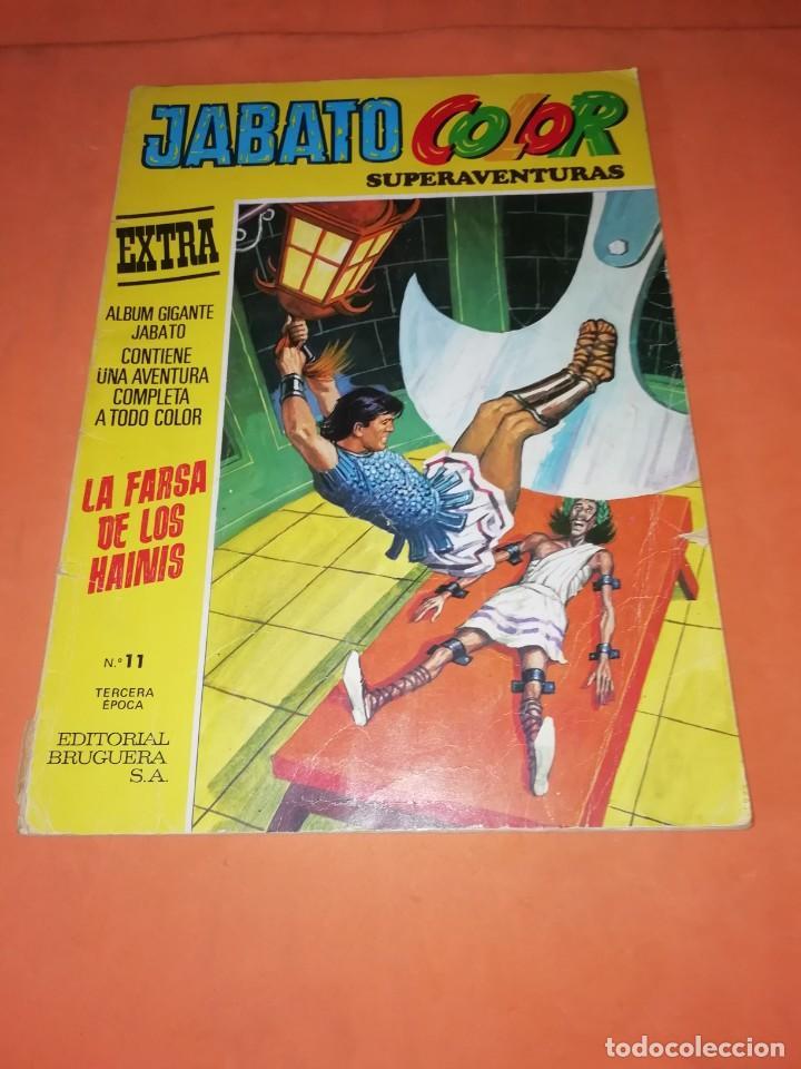 JABATO COLOR EXTRA Nº 11. TERCERA EPOCA. LA FARSA DE LOS HAINIS. (Tebeos y Comics - Bruguera - Jabato)