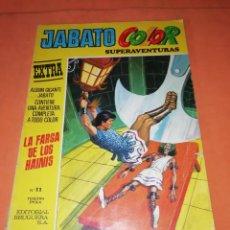 Tebeos: JABATO COLOR EXTRA Nº 11. TERCERA EPOCA. LA FARSA DE LOS HAINIS.. Lote 218571453