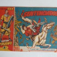 Tebeos: CAPITAN TRUENO Nº 20, BRUGUERA, ORIGINAL DE 1,50. Lote 218589353
