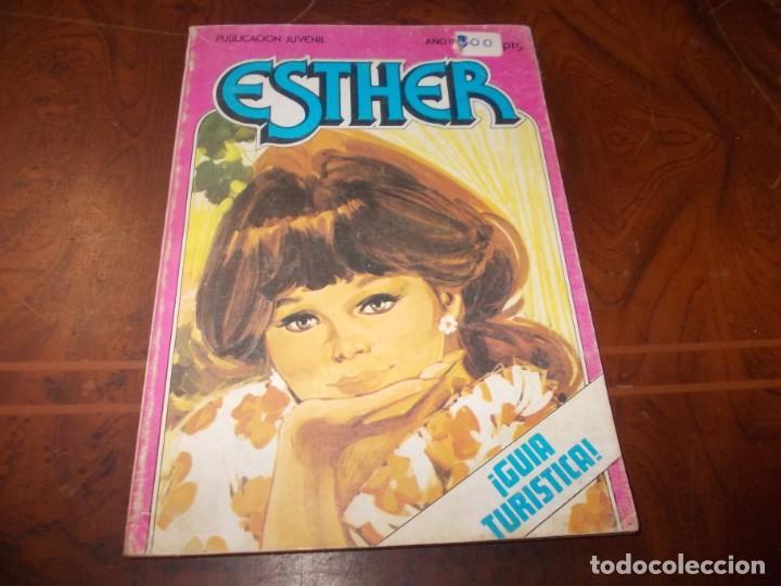 ESTHER ¡GUÍA TURÍSTICA!, AÑO II Nº 19 AGOSTO 1.983. BRUGUERA (Tebeos y Comics - Bruguera - Esther)