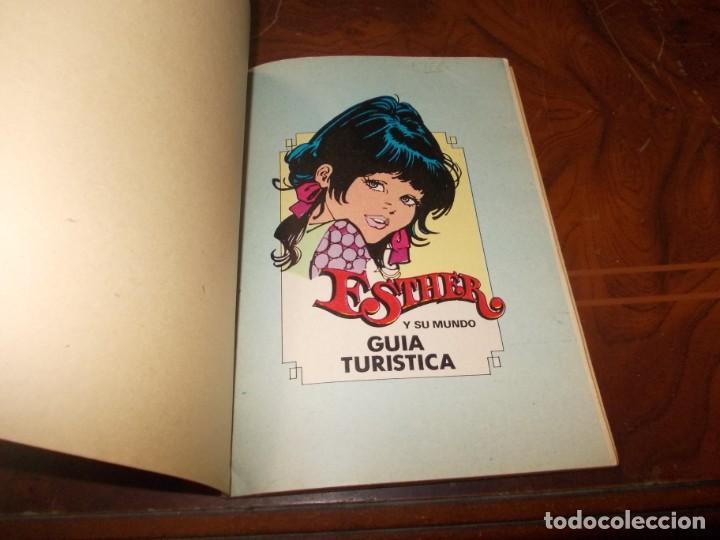 Tebeos: Esther ¡Guía Turística!, año II nº 19 agosto 1.983. Bruguera - Foto 3 - 218619133