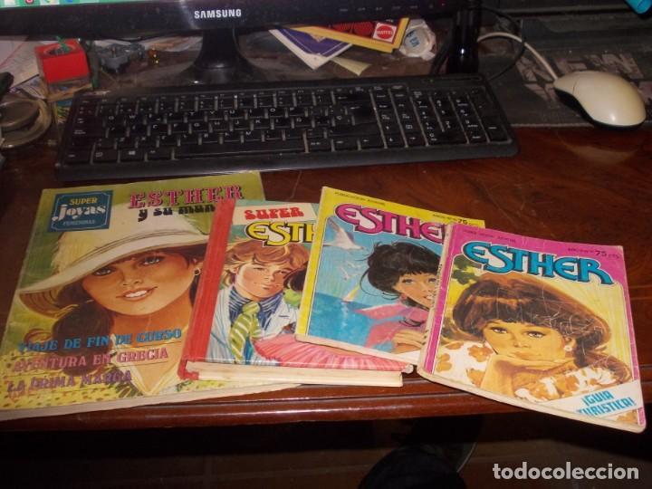 LOTE ESTHER, VER FOTOS Y LEER CONTENIDO (Tebeos y Comics - Bruguera - Esther)