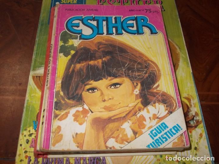 Tebeos: Lote Esther, ver fotos y leer contenido - Foto 2 - 218620003