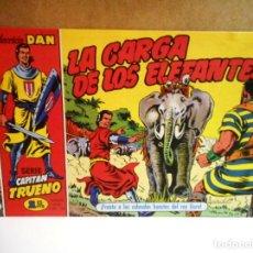 Tebeos: CAPITÁN TRUENO Nº 7 : LA CARGA DE LOS ELEFANTES ( FACSÍMIL ). Lote 218631205