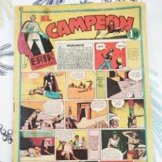 Tebeos: EL CAMPEON ERIK EL ENIGMA VIVIENTE N.º 3 ED. BRUGUERA 1948 ORIGINAL DE EPOCA. Lote 218644321