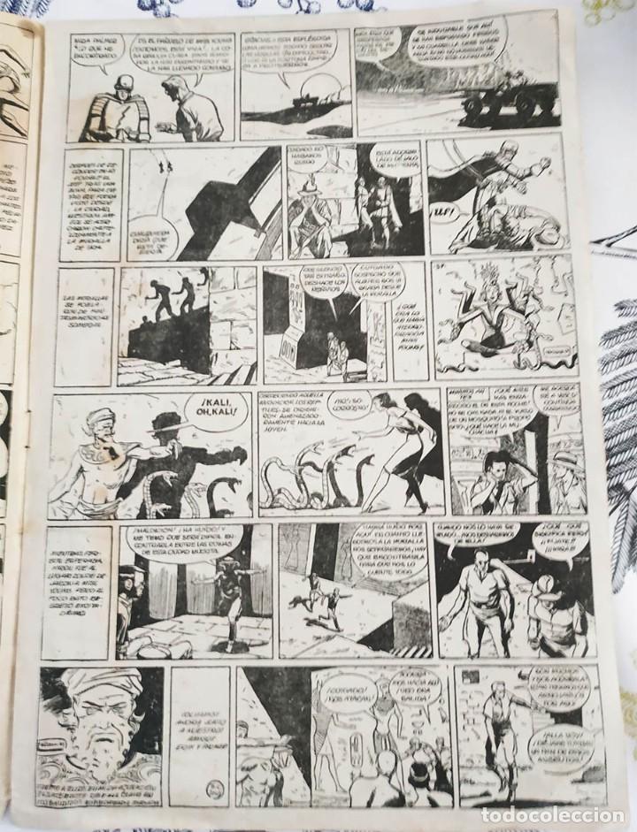 Tebeos: EL CAMPEON ERIK EL ENIGMA VIVIENTE N.º 18 Ed. BRUGUERA 1948 ORIGINAL DE EPOCA - Foto 2 - 218644321
