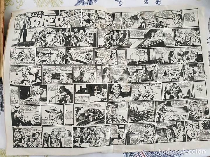 Tebeos: EL CAMPEON ERIK EL ENIGMA VIVIENTE N.º 18 Ed. BRUGUERA 1948 ORIGINAL DE EPOCA - Foto 3 - 218644321