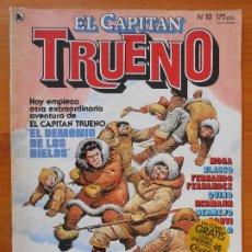 Tebeos: EL CAPITAN TRUENO Nº 13 - AÑO 1986 - BRUGUERA (H1). Lote 218663083
