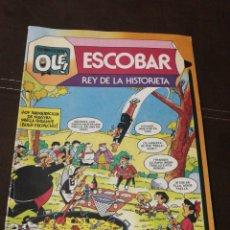Tebeos: CÓMIC ESCOBAR, REY DE LA HISTORIETA, N°295, PRIMERA EDICIÓN, AÑO 1984, BRUGUERA, COLECCIÓN OLÉ.. Lote 218667890