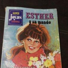 Tebeos: ESTHER Y SU MUNDO N°27,PRIMERA EDICIÓN, AÑO 1982,BRUGUERA. Lote 218669450