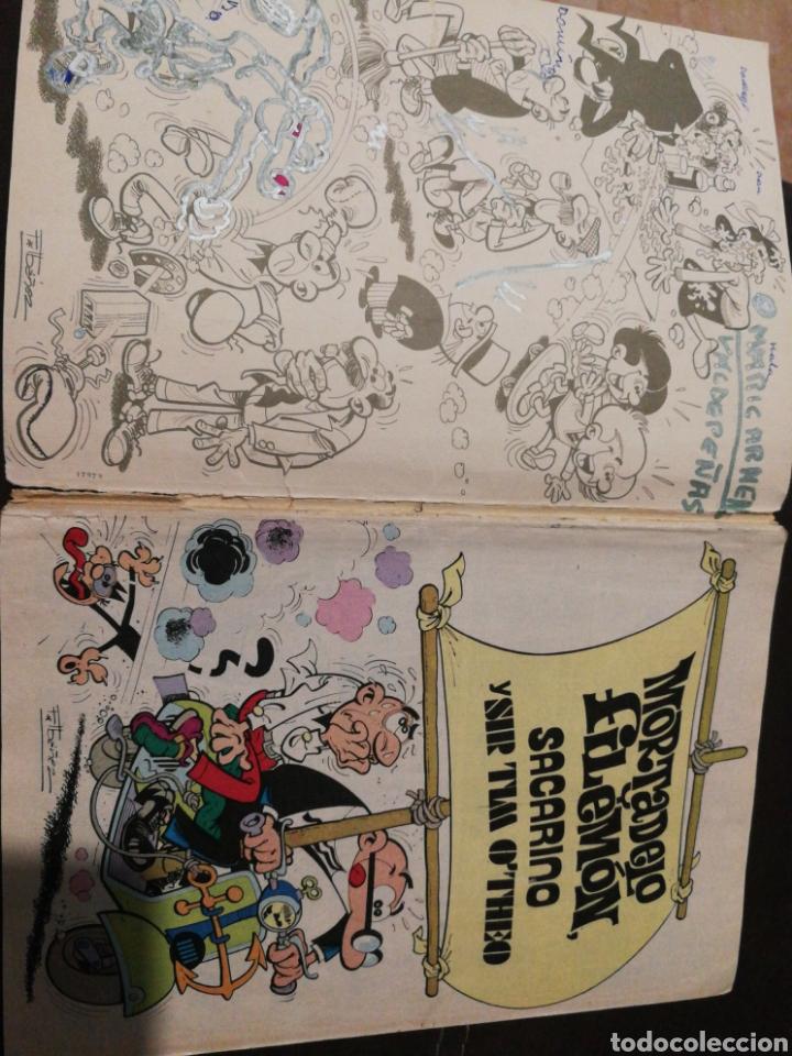 Tebeos: CÓMIC MORTADELO Y FILEMON, N°174, 2°EDICIÓN, AÑO 1982. BRUGUERA, COLECCIÓN OLÉ. - Foto 3 - 218670495