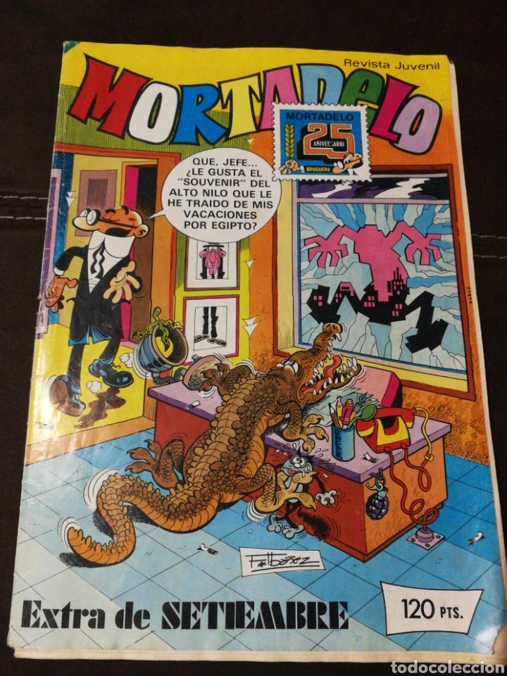 CÓMIC MORTADELO, EXTRA SEPTIEMBRE, N°36,AÑO 1983,BRUGUERA. DIFÍCIL. (Tebeos y Comics - Bruguera - Mortadelo)