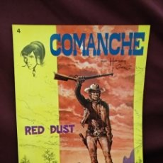 Tebeos: COMANCHE, RED DUST, BRUGUERA, N° 4. Lote 218684073
