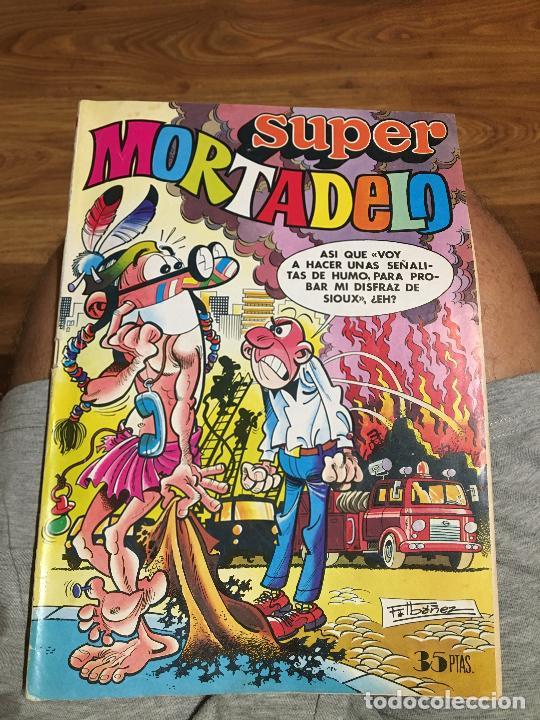 SÚPER MORTADELO - NÚMERO 79 - BRUGUERA - CORSARIO DE HIERRO INÉDITO (Tebeos y Comics - Bruguera - Mortadelo)