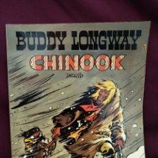Tebeos: BUDDY LONGWAY, CHINOOK. BRUGUERA N°1. Lote 218685936