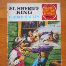 Tebeos: GRANDES AVENTURAS JUVENILES Nº 18 - EL SHERIFF KING - CIUDAD SIN LEY (S). Lote 218691128