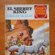 Tebeos: GRANDES AVENTURAS JUVENILES Nº 32 - EL SHERIFF KING - CABALLOS SALVAJES (S). Lote 218691321
