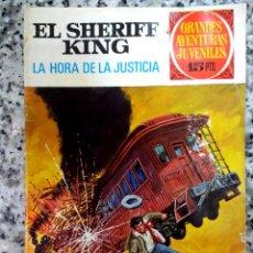 Tebeos: SHERIFF KING.Nº 23.LA HORA DE LA JUSTICIA.1972.GRANDES AVENTURAS JUVENILES. Lote 218692018