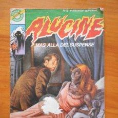 Tebeos: ALUCINE Nº 5 - MAS ALLA DEL SUSPENSE - UNA NOVIA SATANICA - BRUGUERA (AJ). Lote 218694705