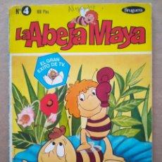 Tebeos: LA ABEJA MAYA N°4: MAYA EN EL BOXEO (BRUGUERA, 1978). 64 PÁGINAS A COLOR CON CUBIERTAS EN RÚSTICA.. Lote 218698122