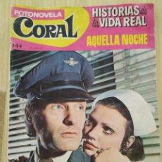 Tebeos: FOTONOVELA, AQUELLA NOCHE, DE 1968, BRUGUERA. Lote 218707396