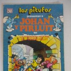 Tebeos: JOHAN Y PIRLUIT/LOS PITUFOS COLECCION OLE BRUGUERA.. Lote 218710972