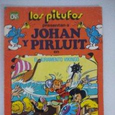 Tebeos: JOHAN Y PIRLUIT/LOS PITUFOS COLECCION OLE BRUGUERA.. Lote 218711070