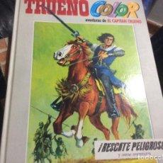 Tebeos: EL NUEVO Y GENUINO TRUENO COLOR. Nº 2 RESACATE PELIGROSO. Lote 218750038