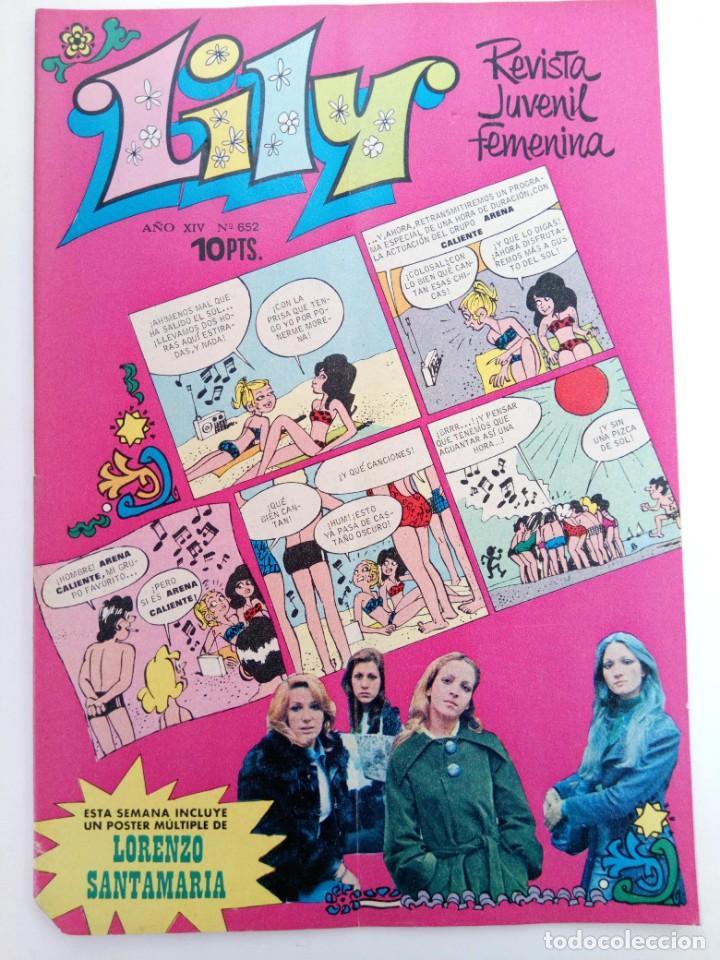 LILY Nº 652 (SIN USAR, DE DISTRIBUIDORA) (Tebeos y Comics - Bruguera - Lily)