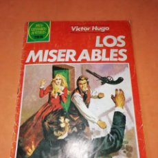Tebeos: LOS MISERABLES. JOYAS LITERARIAS JUVENILES SERIE ROJA Nº 263.DEFECTUOSO. Lote 218789286