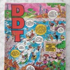 Tebeos: DDT - EXTRA DE VERANO - ED. BRUGUERA - 1971 (CON REX DE LOS MARES DEL SUR). Lote 218815778