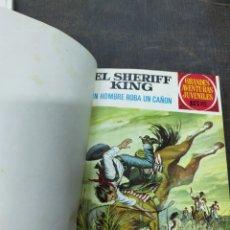 Tebeos: ENCUADERNADO SHERIFF KING. NºS. 34, 35, 36, 38, 39, 40, 42, 43, 46, 47. Lote 218832608