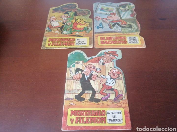 3 TROQUELADOS ASES DEL HUMOR 2, 26 Y 27 JAN AUTOR SUPERLÓPEZ SÚPER LÓPEZ 1970 1971 (Tebeos y Comics - Bruguera - Otros)