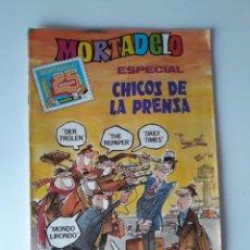 Tebeos: MORTADELO 172 - ESPECIAL CHICOS DE LA PRENSA - CON AVENTURA DE RIC HOCHET. Lote 218925515