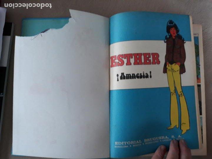 Tebeos: Famosas Novelas Serie Azul Bruguera Nº 4 Esther y su mundo - Foto 3 - 218935978