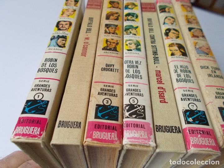 Tebeos: HISTORIAS SELECCIÓN Serie Grandes Aventuras 7 Tomos - Foto 3 - 218960797