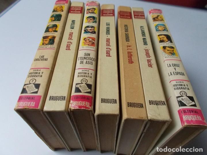 Tebeos: HISTORIAS SELECCIÓN Serie Historias y Biografías 7 tomos - Foto 3 - 218963767
