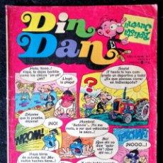 Tebeos: DIN DAN Nº 312 BRUGUERA 1974 - 8 PTAS.. Lote 218970071