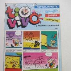 Tebeos: TIO VIVO Nº 2 TERCERA EPOCA BRUGUERA 1987 E8. Lote 218996360