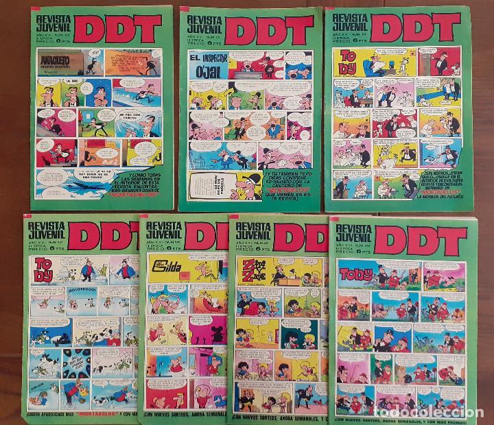 DDT 210, 215, 216, 237, 240, 247, 248 (Tebeos y Comics - Bruguera - DDT)