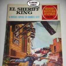Tebeos: EL SHERIFF KING, Nº 16, LA MUERTE ESPERA EN CRUMBLE CITY, ED. BRUGUERA, AÑO 1975, 6D. Lote 219093922