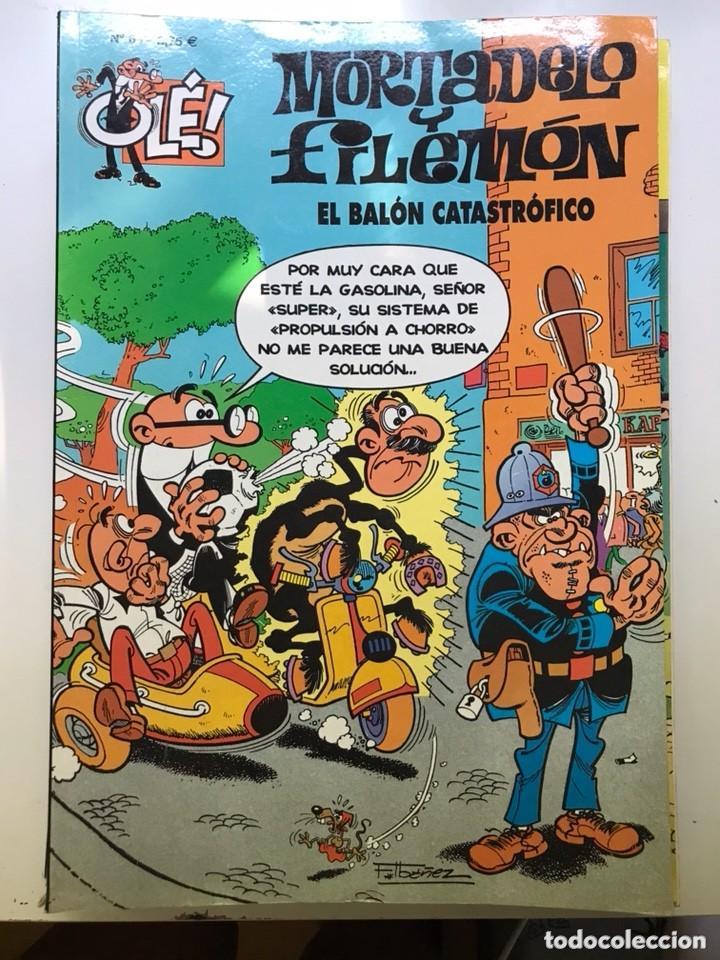 MORTADELO Y FILEMÓN. Nº 63. EL BALÓN CATASTRÓFICO. (Tebeos y Comics - Bruguera - Mortadelo)