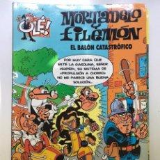 Tebeos: MORTADELO Y FILEMÓN. Nº 63. EL BALÓN CATASTRÓFICO.. Lote 219094601