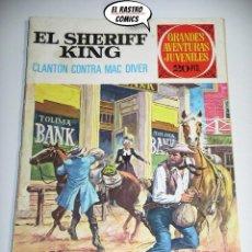 Tebeos: EL SHERIFF KING, Nº 14, CLANTON CONTRA MAC DIVER, ED. BRUGUERA, AÑO 1975, (A) 6D. Lote 219095193