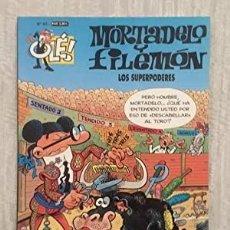 Tebeos: MORTADELO Y FILEMÓN Nº 93. LOS SUPERPODERES.. Lote 219095270
