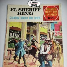 Tebeos: EL SHERIFF KING, Nº 14, CLANTON CONTRA MAC DIVER, 15 PTAS, ED. BRUGUERA, AÑO 1972, (C) 6D. Lote 219096067