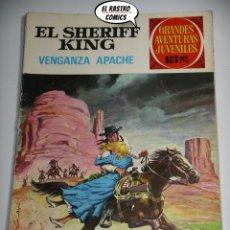 Tebeos: EL SHERIFF KING, Nº 12, VENGANZA APACHE, 15 PTAS, ED. BRUGUERA, AÑO 1971, (A) 6D. Lote 219096835