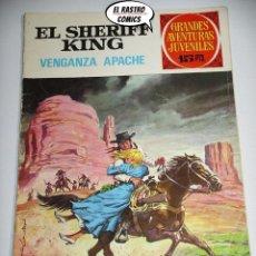 Tebeos: EL SHERIFF KING, Nº 12, VENGANZA APACHE, 15 PTAS, ED. BRUGUERA, AÑO 1971, (B) 6D. Lote 219097691